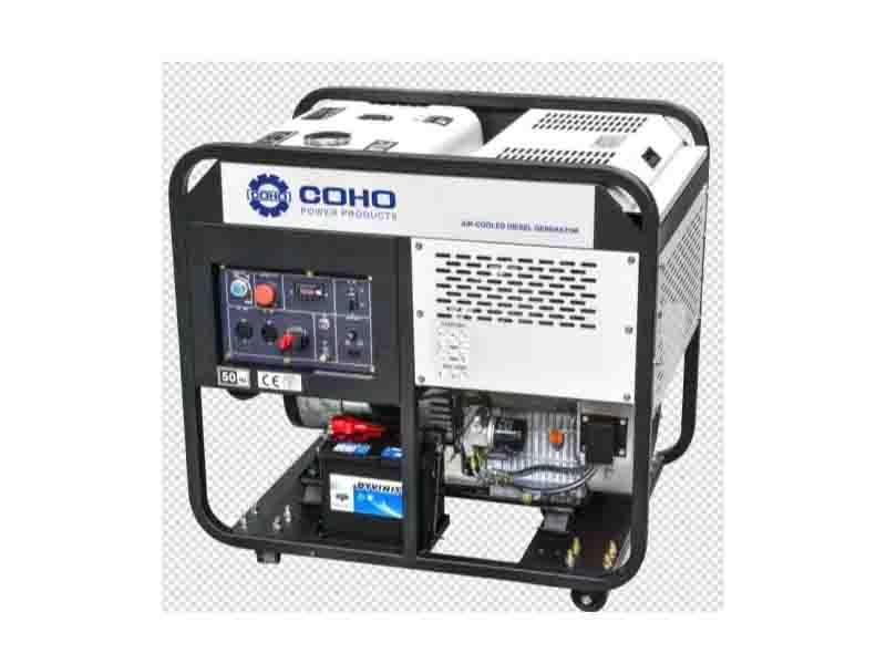 10kw Open Frame Diesel Generator