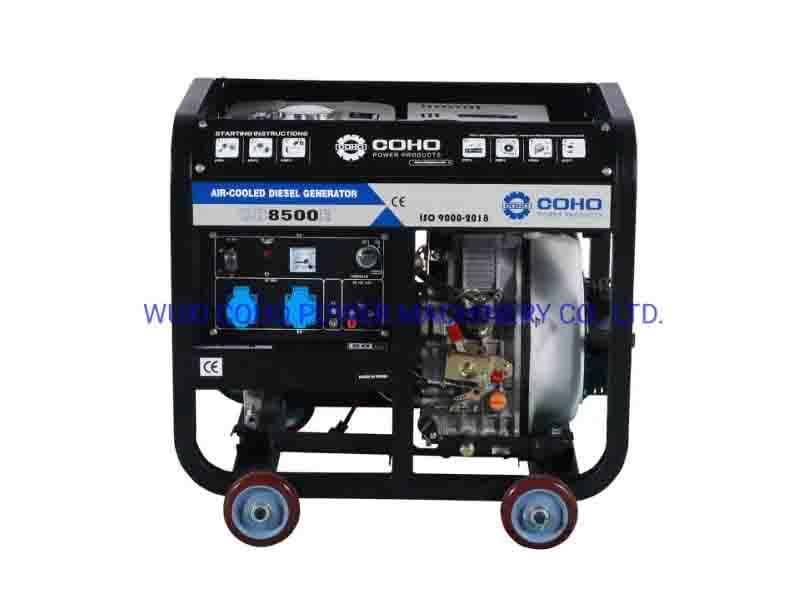 6.5kw Open Frame Diesel Generator