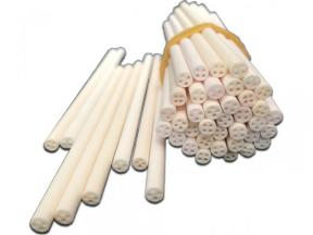 Refractory Alumina Ceramic Thermocouple Tube (4 Hole)