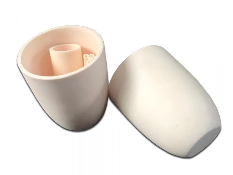 99.3% Alumina Ceramic Laboratory Equipment Cone Crucible/Container