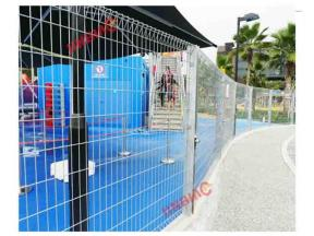 Singapore Playground Triangle Folding Fence Project