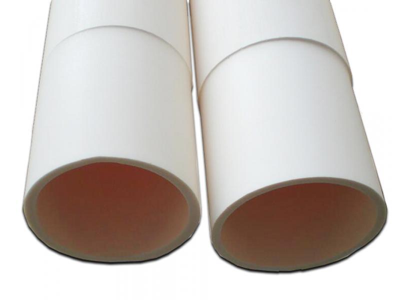 99.5%Ground Finish Alumina Ceramic Furnace Tube/Pipe