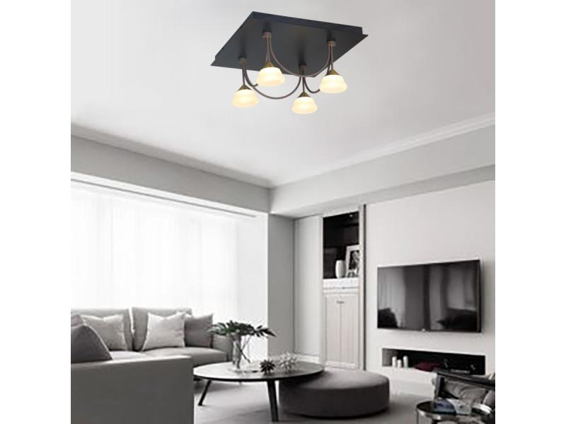 Modern Ceiling Light with Gardening Style Decoration Living Room Hotel Coffee Restaurant