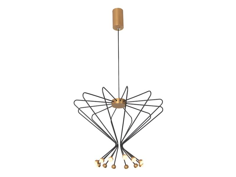 Modern LED Pendant Lights with Ferris Wheel Ball Decorate Restaurantminimalist Hanging Lamp