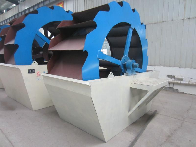 Bucket Wheel Sand Washing Machine for Sale LZZG