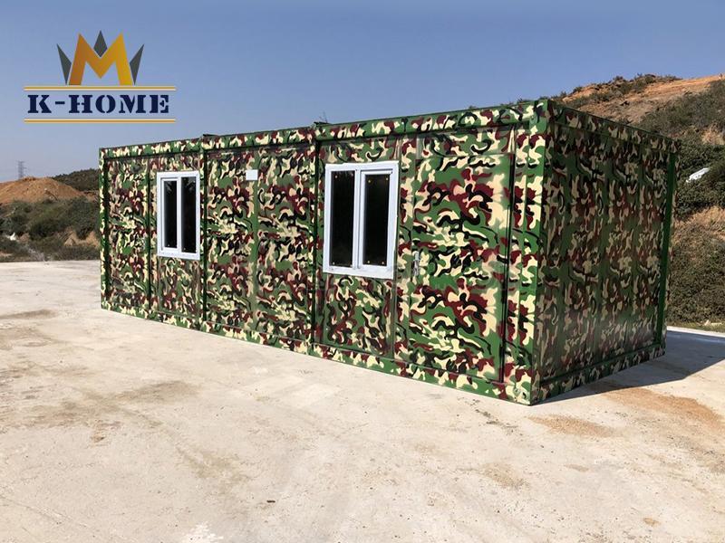 Prefab Modular Military Container Barracks