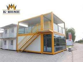 Prefabricated Office Container for Building Site