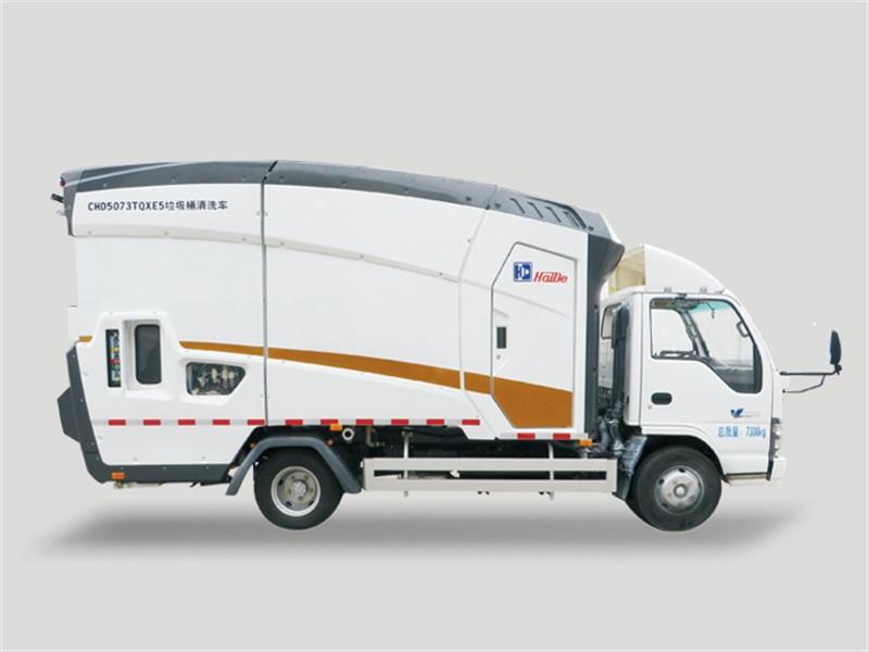 China Made Haide Dustbin Washing Truck