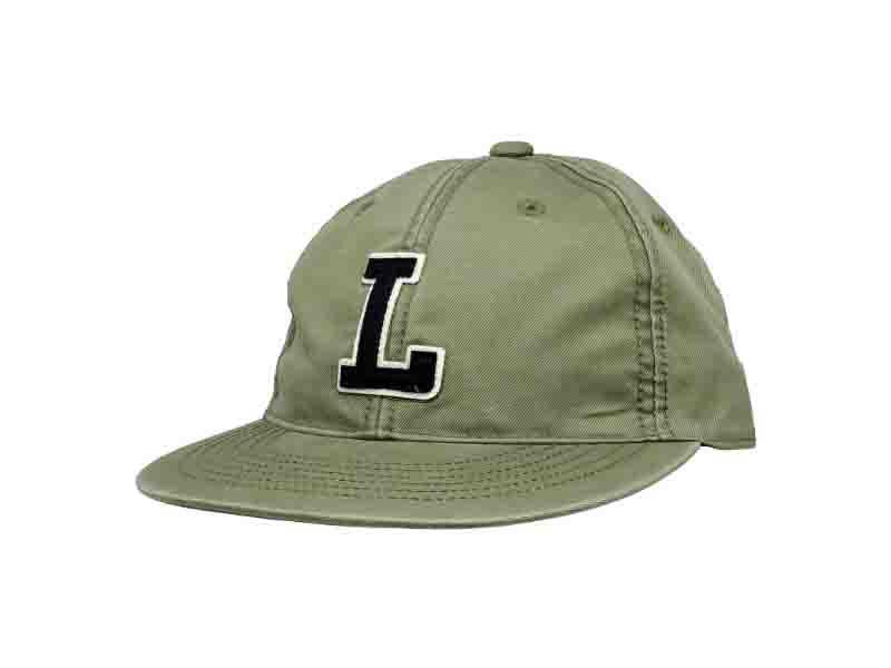 CHARACTER LOGO FLAT BRIM UNSTRUCTURED 6 PANEL HAT CAP