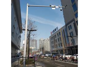 Galvanized Steel Traffic CCTV Monitor Camera Poles