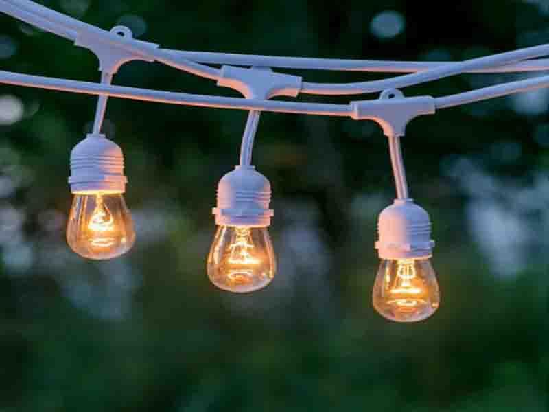 SAA Listed/10 E27 SUSPENDED SOCKET/ OUTDOOR COMMERCIAL WEATHERPROOF STRING LIGHT/10M CORD SAA Liste