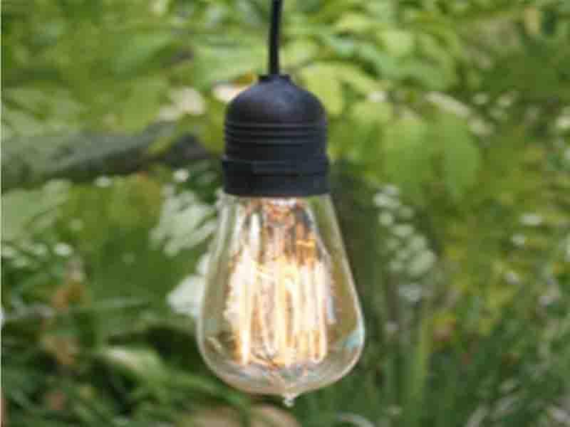 11FT SINGLE SOCKET COMMERCIAL GRADE OUTDOOR PENDANT LIGHT LAMP CORD 11FT SINGLE SOCKET COMMERCIAL G