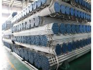Hot Dipped Galvanized Round Steel Pipes Q235 Steel Tube