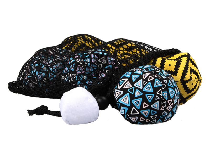 Custom Nylon Ripstop Boccia Balls Durable Toss Boccia Ball Set