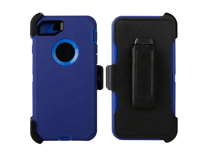 Factory Direct Supply Robot Rugged Defender Shockproof Mobile Phone Cover Case with Belt Clip for IP