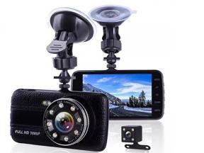 Camera Car Camera New Full HD Dash Camera 1080 P Dual Lens 170 Degree Wide Angle with G-Sensor 4.0 I