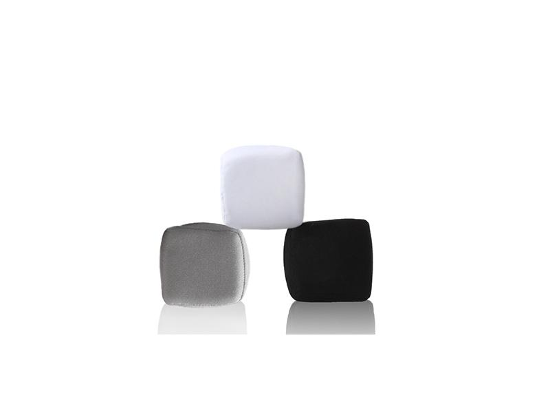 Square/Heart Shape Stress Ball TPR Lycra Stress Relief Ball