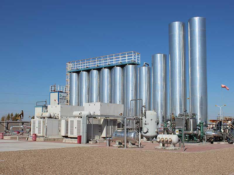 NATURAL GAS RECOVERY SOLUTION