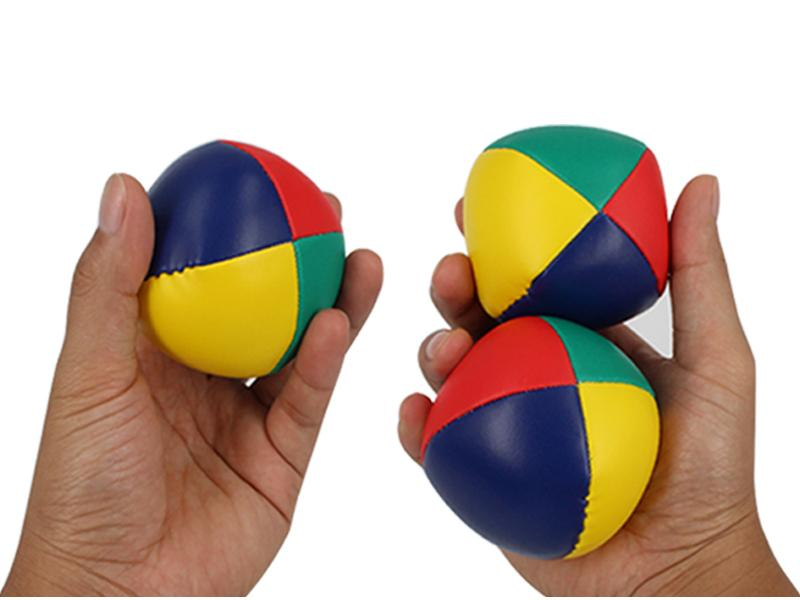 Factory OEM PVC Leather Juggling Balls