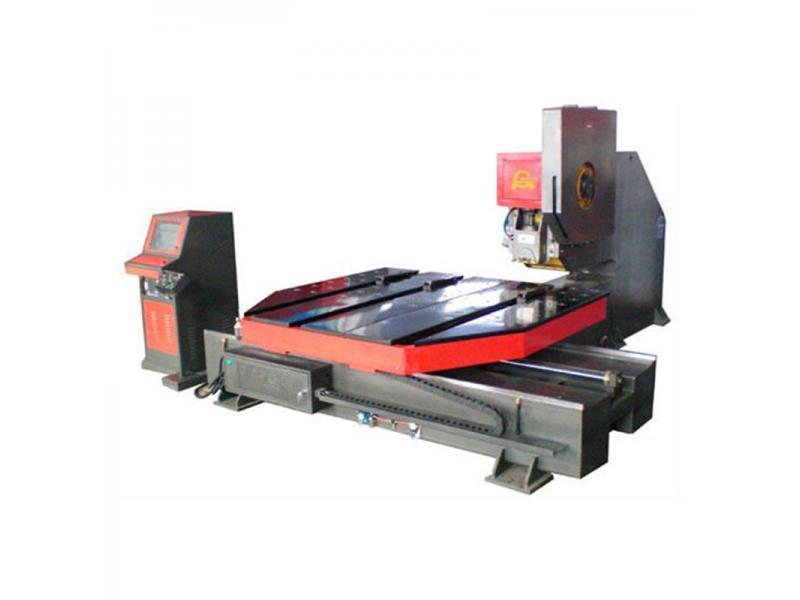 AMD-P CNC Automatic Hole Steel Punching Machine