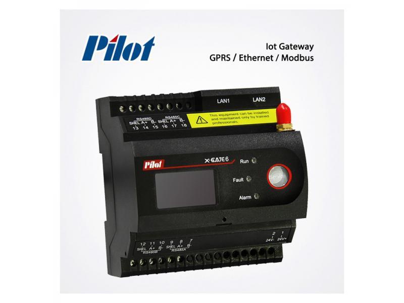 PILOT XGATE6 GPRS 4G EDGE Ethernet RS485 GSM Gateway