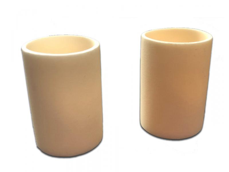 High Temperature Alumina Ceramic Experimental Crucible