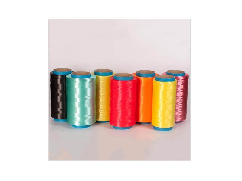 Colored UHMWPE Fiber