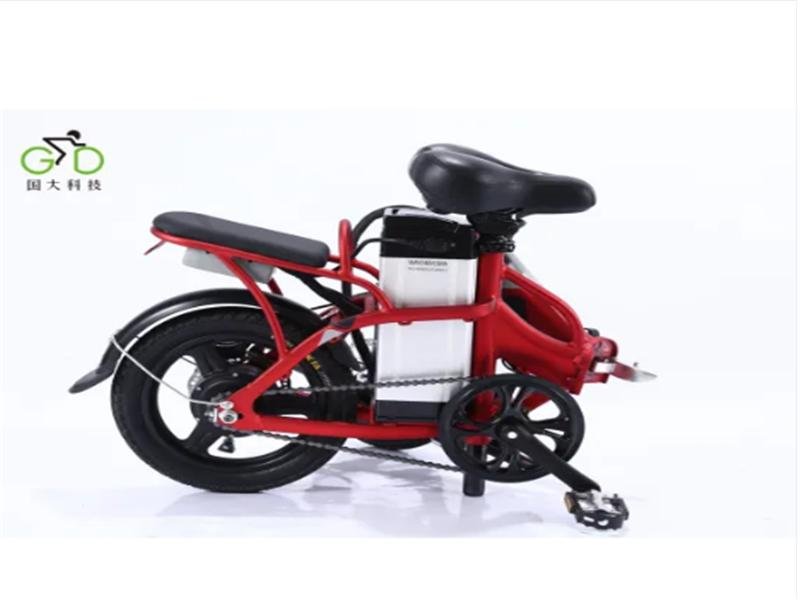 Aluminum Folding Electric Lithium Battery Bike 250W for Adult