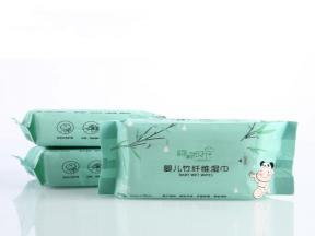 Bamboo Fiber Baby Wet Wipes