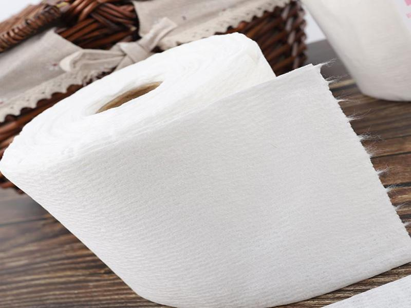 Cotton Spunlace Nonwoven Cleaning Wipe Rolls Salon Towel Roll