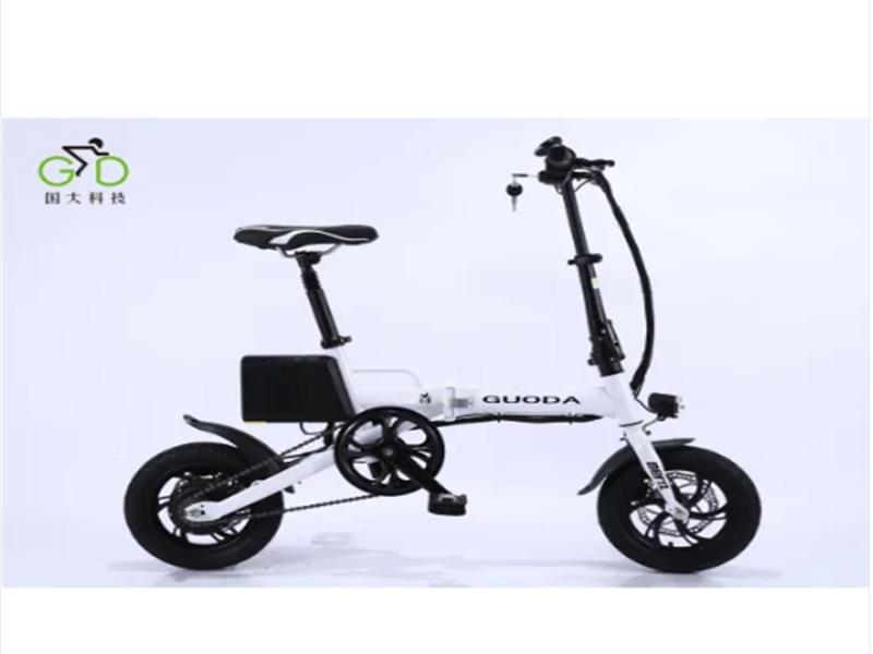 Cty Road Light Folding Lithium Battery Electric Bicycle