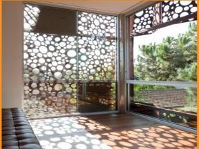 Pattern Home Garden Decorative Screen