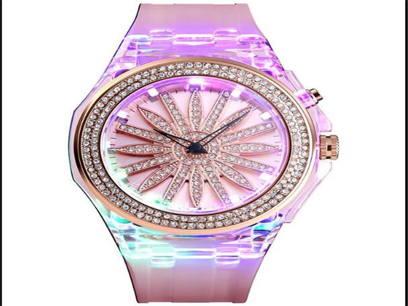 Skmei 1536 Antique Watch LED Girl, Colorful Backlight Women Wrist Watch