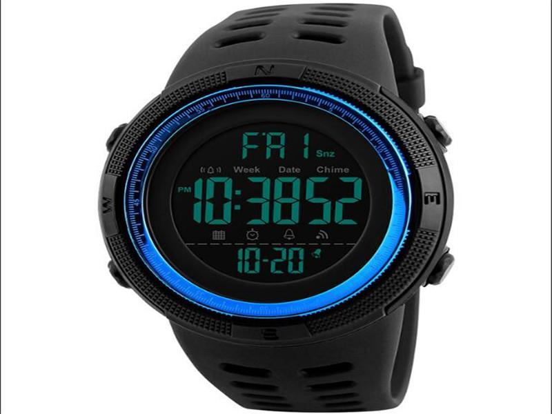 SKMEI 1251 Wrist Watch Man Cheap Sports Watches Digital Jam Tangan