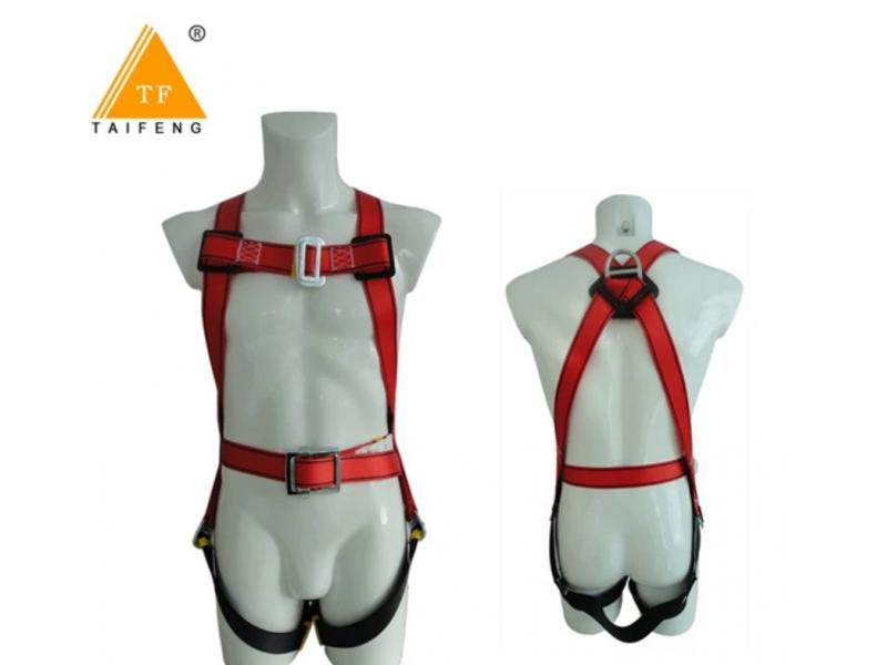 Fall Protection Safety Equipment Safety Harness with Shoulder Pads