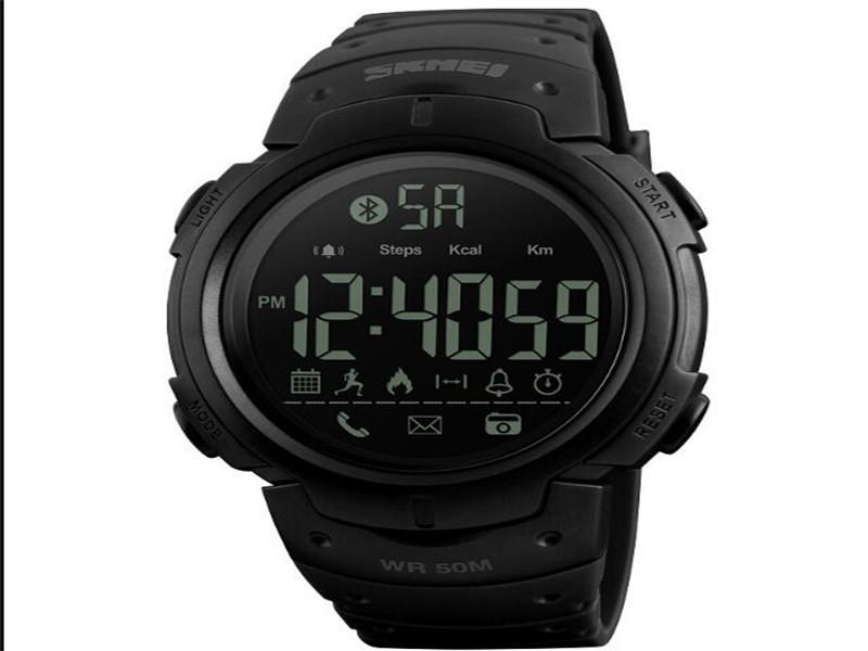 Skmei Relojes Inteligentes Sport Smart Watch Digital Army Green
