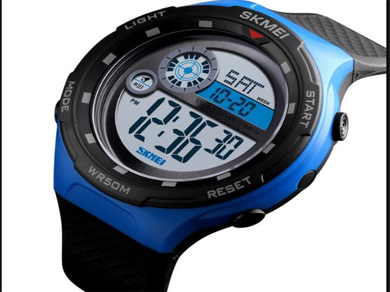 SKMEI 1465 Factory Origin Watches Men Digital Sport Day Date Waterproof Wrist Watch