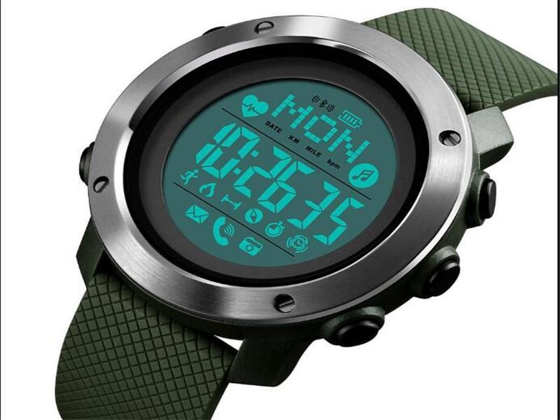 Skmei Fashionable Man Heartbeat Watch 1511waterproof Sport Smart Watches Men