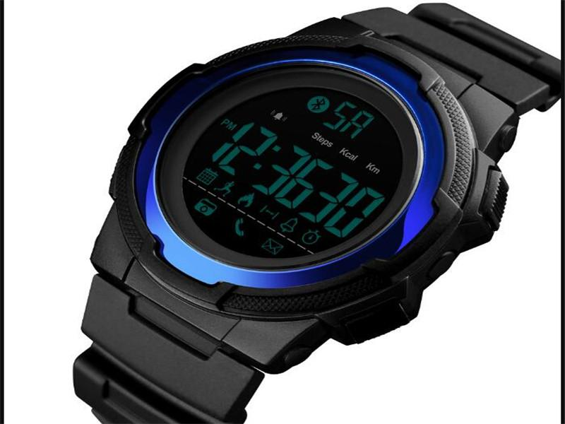 Skmei Sedentary Remind Smart Watch Manufacturer Water Resistant Sport Clock for Man
