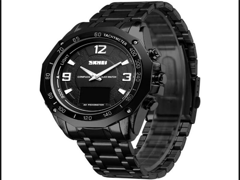 Skmei 1464 Compass Watches Digital Waterproof for Men