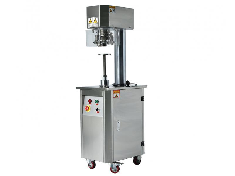 Manual Can Sealing Machine , Semi Auto Can Seaming Machine , Can Sealer FH-SLV20