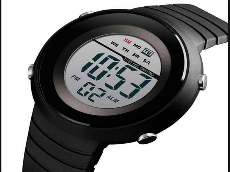 Skmei 1497 Original Simple Watches Mens Digital High Quality Cheap Alarm Clock Reloj