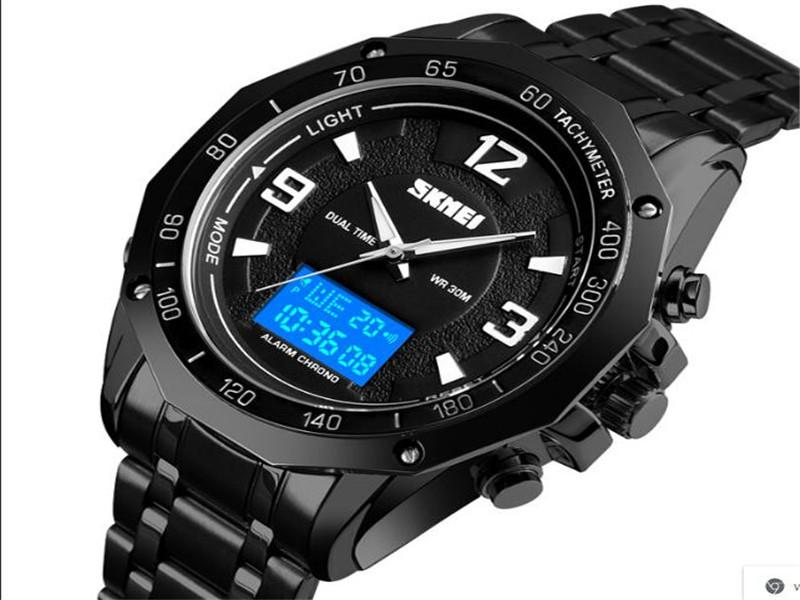 Skmei 1504 Business Mens Automatic Sport Watch Digital