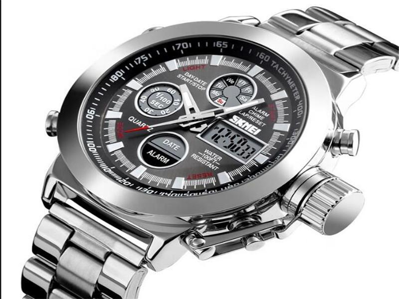 Man Sport Skmei Quartz Wrist Watch Analog Digital Watches Men