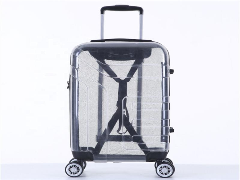 Good Selling New Products Top Quality PC Transparent Suitcase for Air