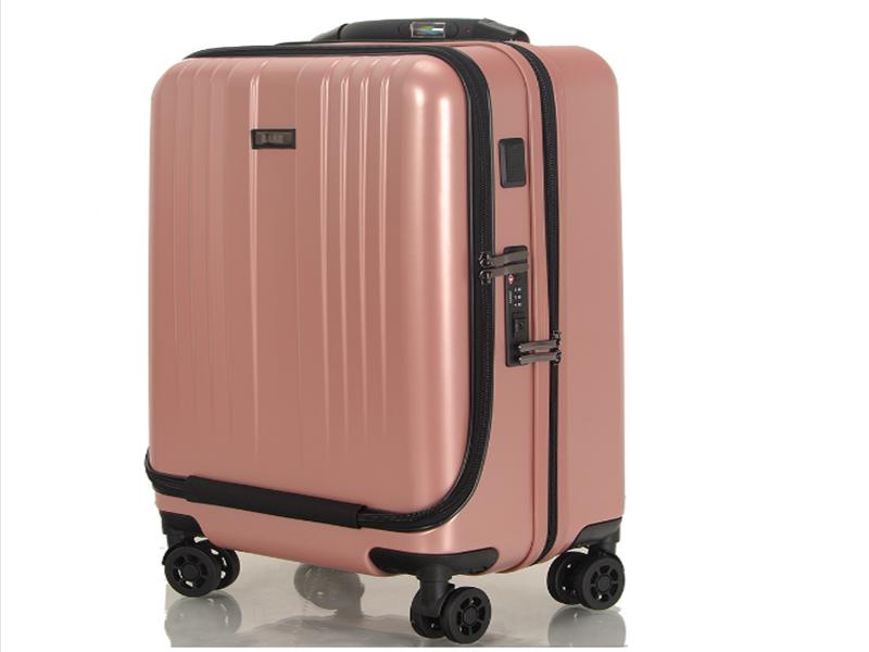 Top Selling PC 20 Inches Self-weight Cabin Size Smart Travel Suitcase with USB Charger