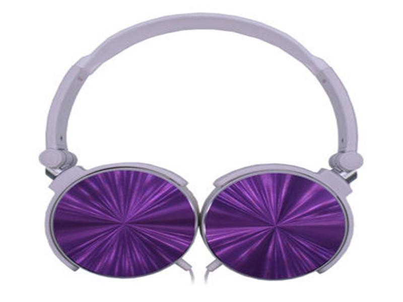 Hot Sale Wired Headphones with Different Colors and Soft Ear Cover