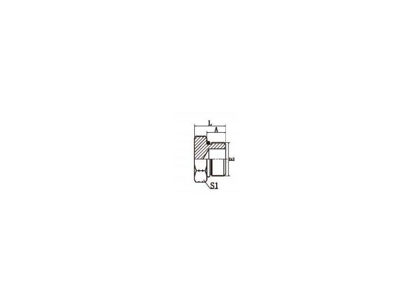 SAE O-RING BOSS PLUG L-SERIES ISO 11926-3