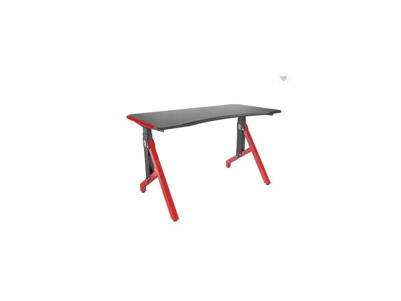 Rgb Gaming Standing Desk OEM ODM Factory Low MOQ Customer Gaming Desk Height Adjustable Carbon Fiber