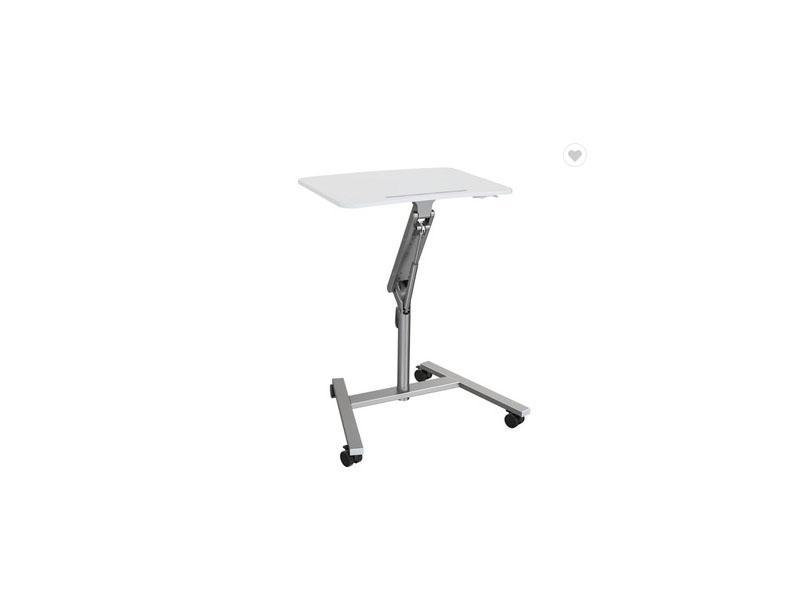 Rolling Standing Desk Height Adjustable Sit Stand Workstationt Table